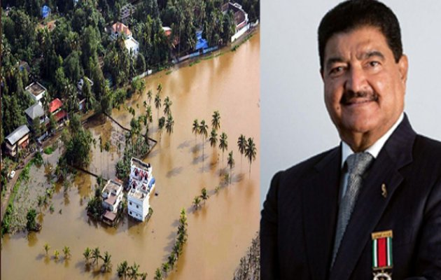 Dr BR Shetty to donate Rs. 2 crore to Kerala flood victims