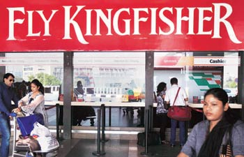 Kingfisher Airlines may lay off 3,500 staff