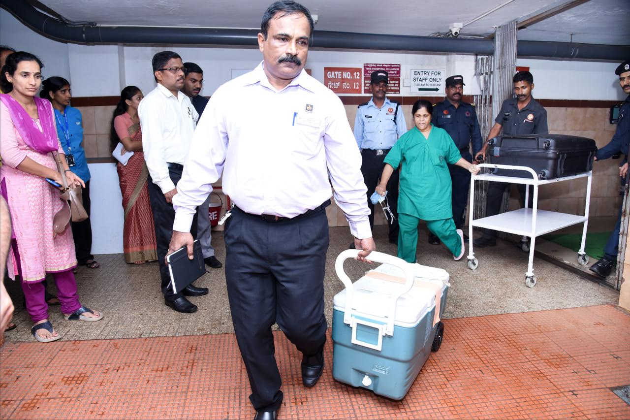 Brain dead patient from Karkala donates organs and save 7 others