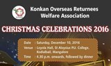 Christmas Celebration 2016  Organized by Konkan Overseas Returnees Welfare Association (KORWA).