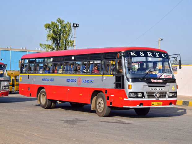 Mangaluru: After two months first bus leaves to Bengaluru