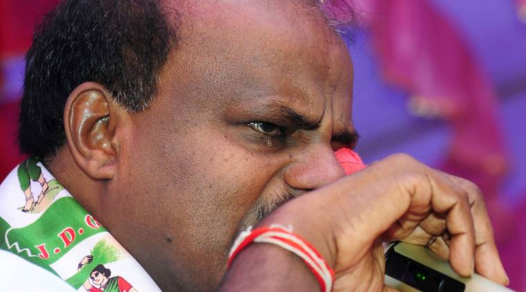 Swallowing pain like Lord Shiva who drank poison, says Kumaraswamy; BJP calls him 'best actor'