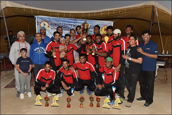 Kuwait: Mangalore Friends - A wins KCWA Cricket Cup 2016; Scorpions Runner up