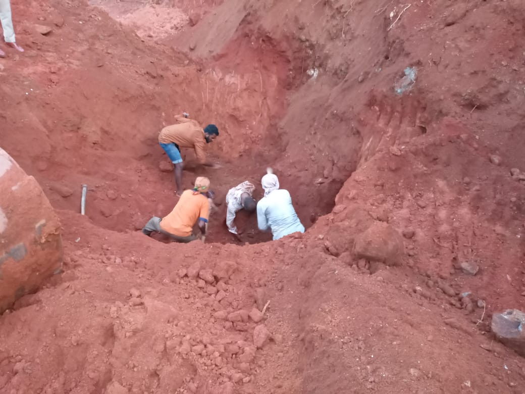 Three labourers killed, one injured in landslide