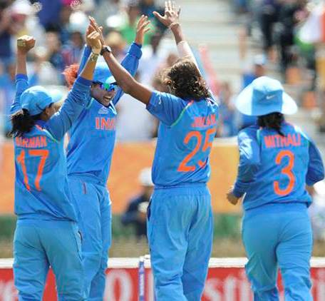 India beat Pakistan by 95 runs in Women's World Cup