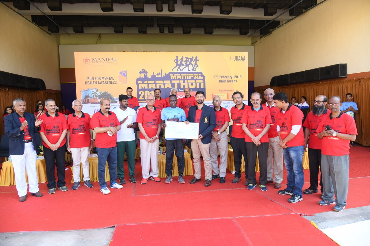 Kenyan runners hog limelight in Manipal Marathon