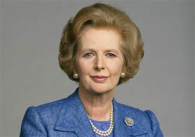 Margaret Thatcher, 'Iron Lady' who led conservative resurgence in Britain, dies at 87