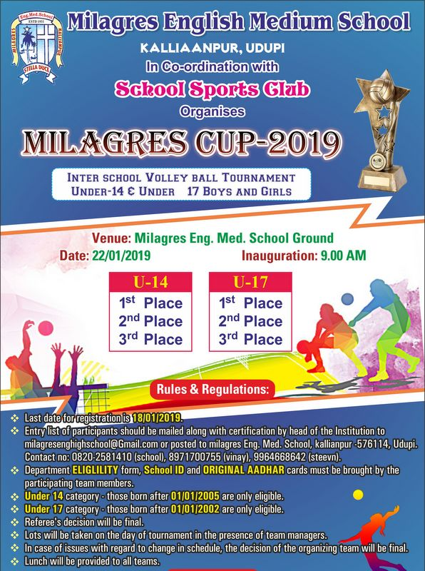 Milagres English Schools to host