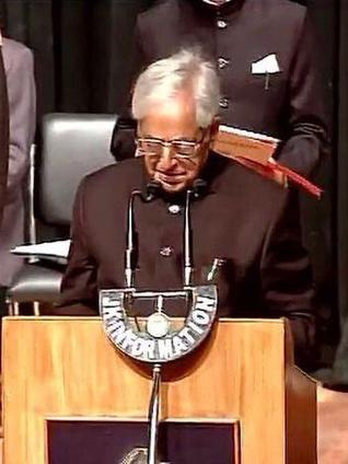 Mufti Sayeed takes oath as J&K Chief Minister