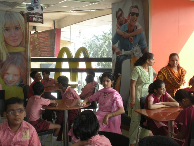 Xmas & New Year Party at McDonald's for Special Children on Monday 19th December 2011