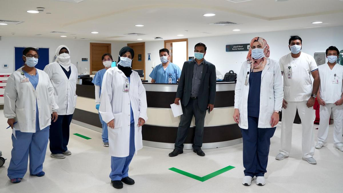 Coronavirus: new Abu Dhabi hospital built in 48 hours