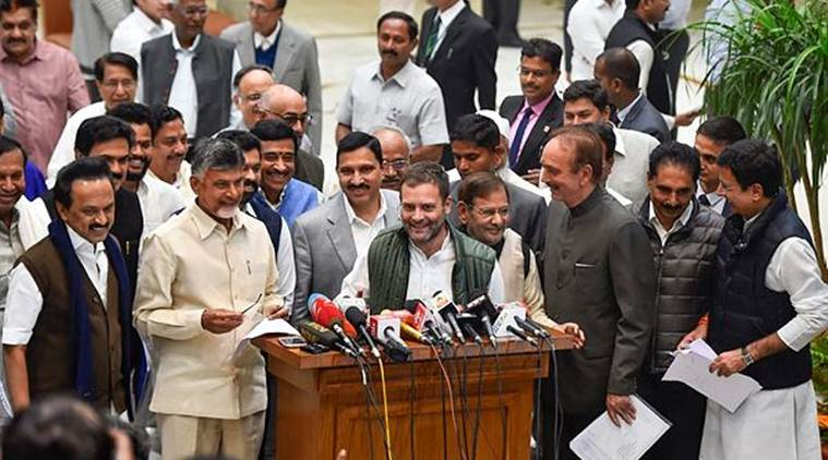 Opposition meet: Goal is to defeat BJP, says Rahul Gandhi