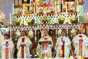 The Titular Feast of Our Lady of Miracles Celebrated with Great devotion & Fervor