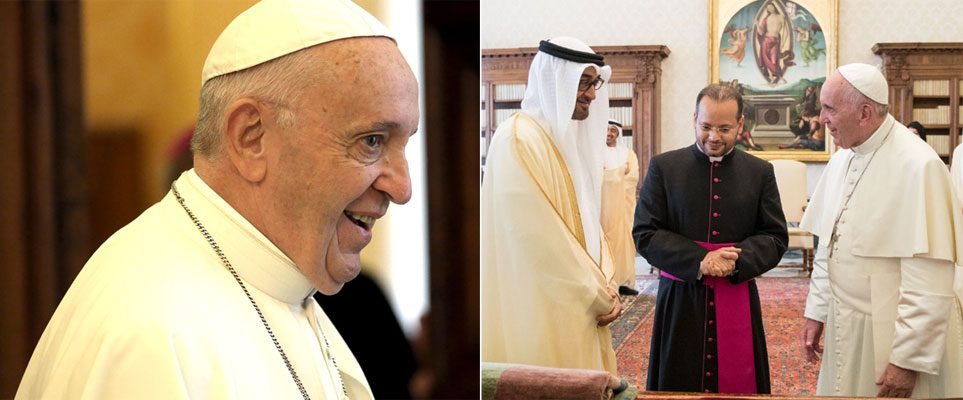 Pope visit: School holidays announced in UAE
