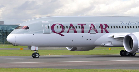 Qatar Airways flight skids off runway in Kerala
