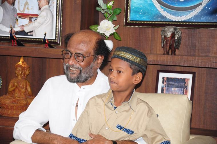 Rajinikanth praises 7-year-old boy who returned Rs 50,000, agrees to sponsor his education