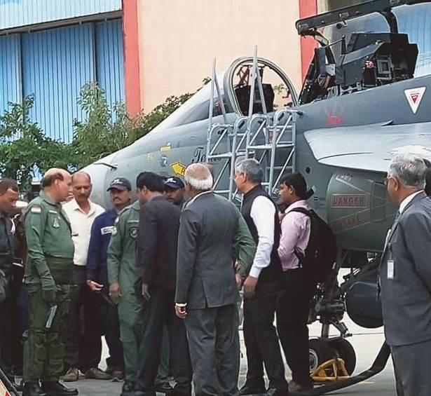 Rajnath Singh becomes first Defence Minister to fly in Tejas fighter aircraft