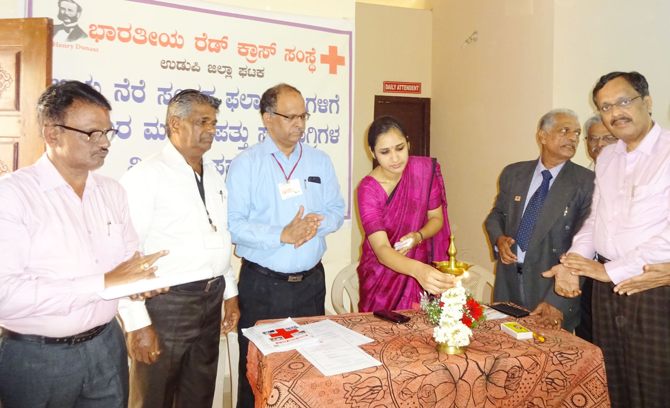 Give information about the social work of the Red Cross - Preety Gehlot, CEO of Udupi Zilla Panchayat