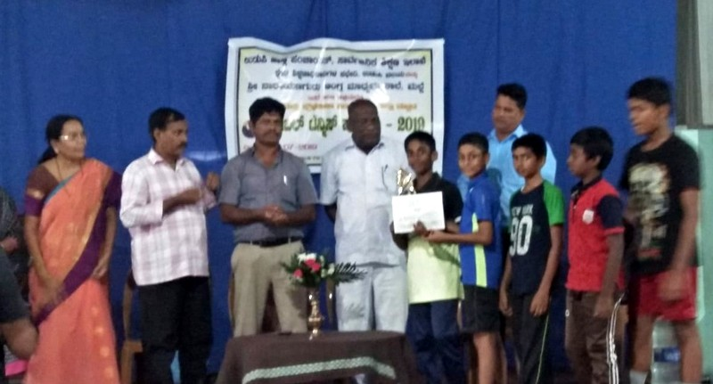District level Table Tennis : Three teams of Milagres English Medium School Triumph