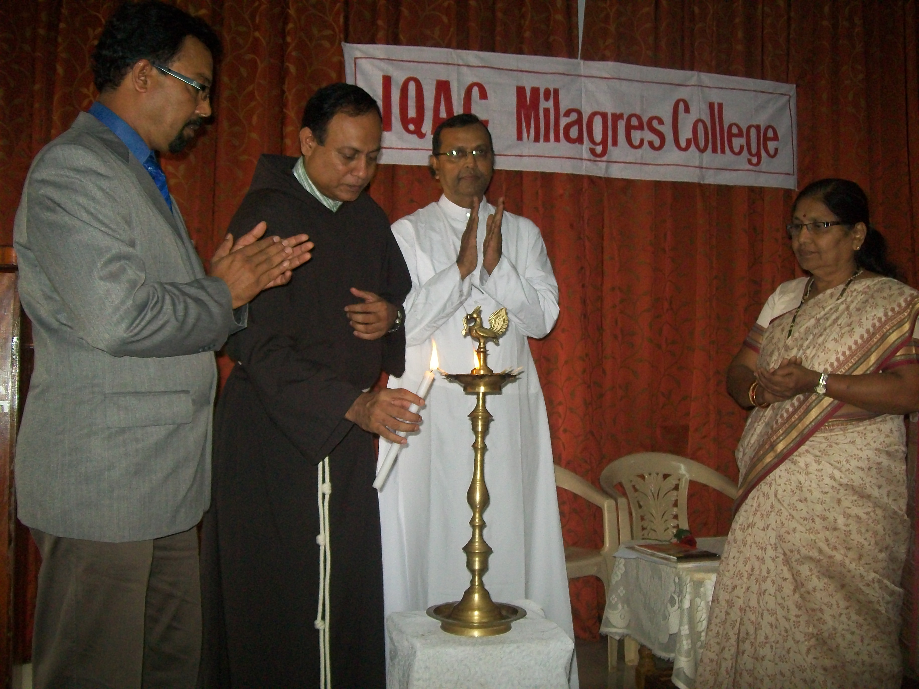 IQAC workshop for Milagres College Lecturers inaugurates