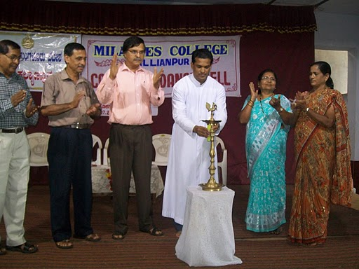 Career Guidance Seminar inaugurates at Milagres PU College, Kallianpur