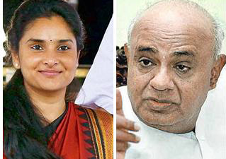 Ramya gets backing of former PM HD Deve Gowda over her pro-Pak statement