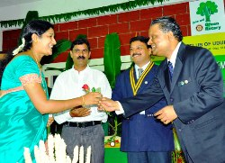The Installation ceremony of Rotary Club Udupi Manipal