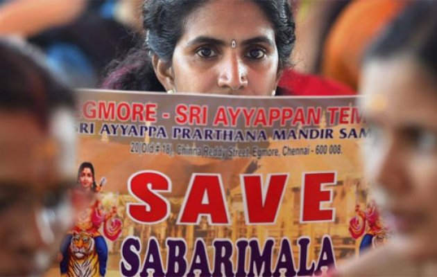 Sabarimala temple opens tomorrow, protesters ask women to return
