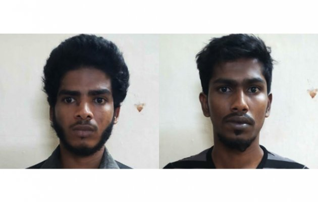 Chain snatchers nabbed; ornaments, two-wheeler seized