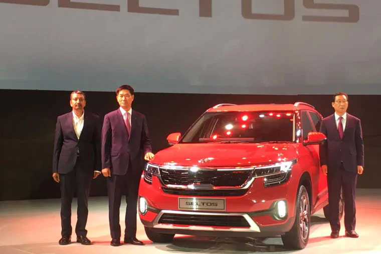 Kia Motors announces global debut of SUV Seltos in India