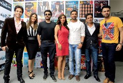 Shooting the breeze - The cast of Shootout at Wadala in Dubai