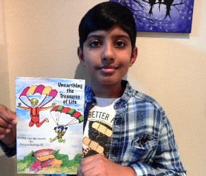 Mangalurean Multi-Talented Dubai Wonder boy's Book Released.