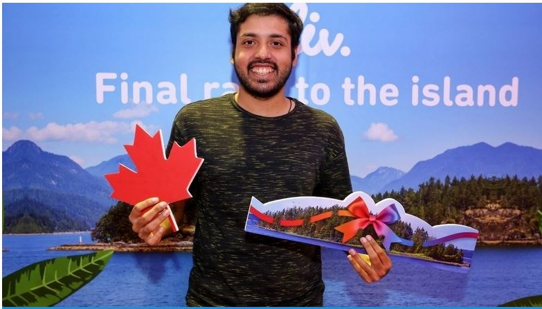 Indian-origin expat in Dubai wins a private island in Canada