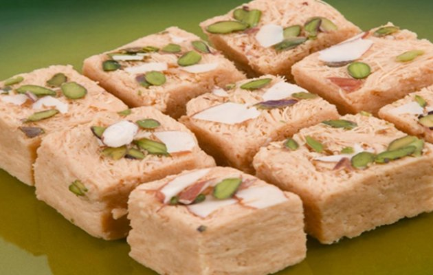In the name of mobile phone comes Soan Papdi