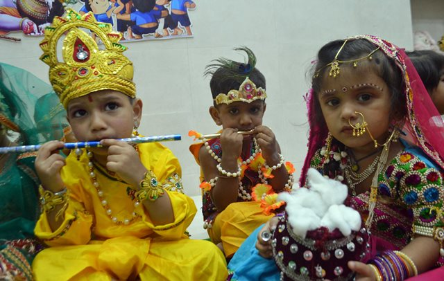 Shri Krishna Janmashtmi Celebration at Mumbai