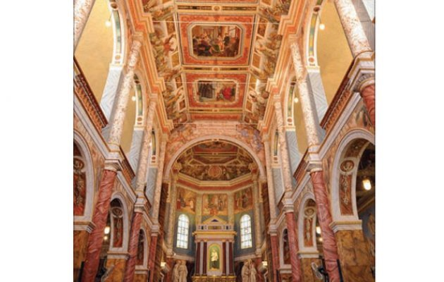 St Aloysius chapel restored frescoes to be open on Feb 16