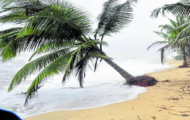 Sea erosion;Malpe, Thottam, beaches deserted
