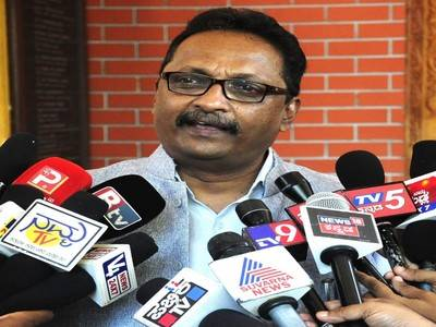 I will canvas against Pramod Madhwaraj in Lok Sabha election - T. J. Abraham
