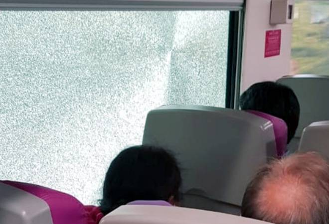 Stones hit Vande Bharat Express; driver's screen, windows damaged