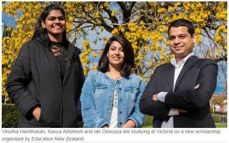 New scholarships bring top Indian students to Victoria