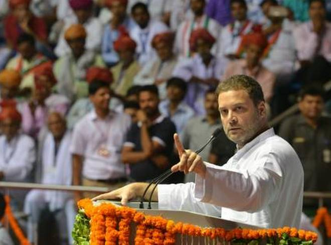 India has become a slave to some people in the BJP and RSS, says Rahul Gandhi