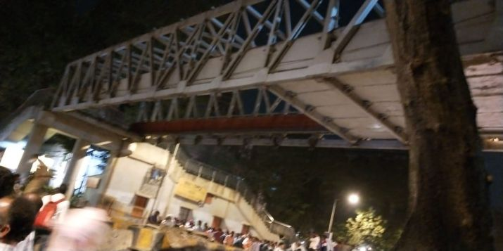 3 Dead, 34 Injured As Foot Overbridge Collapses Near Mumbai's CST
