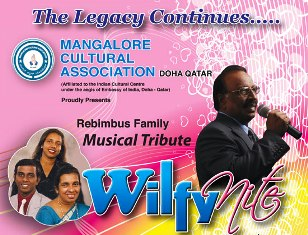 "Count down has began for the long awaited ""Wilfy Nite"" in Qatar"