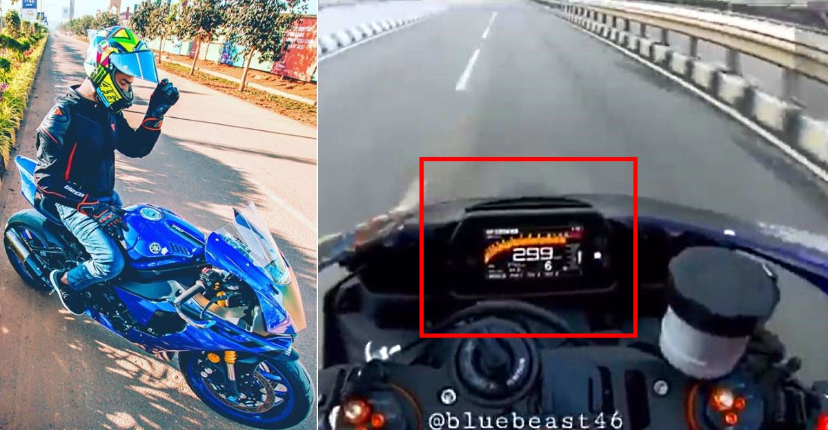 Bengaluru: Man posts video of riding bike at 300 kmph, gets arrested for reckless driving