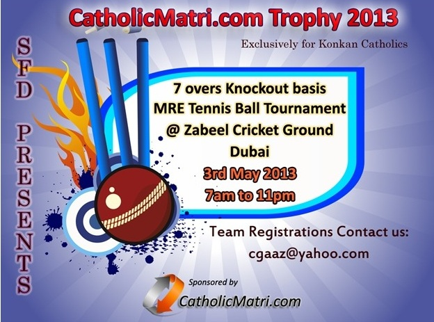 Invitation For Corporate Cricket Tournament: Cricket Tournament In Dubai