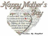 TO ALL THE MOTHERS WORLDWIDE