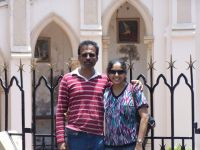 Charles and Anita Gomes,Bangalore