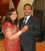 Happy Wedding Anniversary to Sydney and Veena
